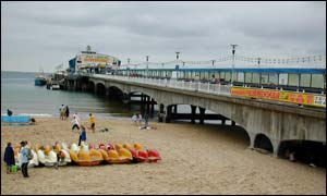 Bournemouth's pier