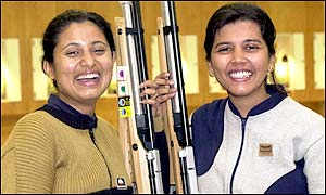 A close competition saw India's shooting dominance continue