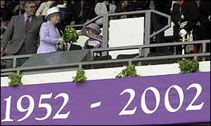 The Queen at Pride Park, Derby
