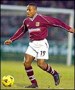 Derek Asamoah in action for Northampton