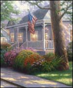 Photograph courtesy Thomas Kinkade, Media Arts Group, Inc. Morgan Hill, CA 95037