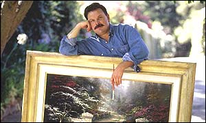 Thomas Kinkade, Photograph courtesy Thomas Kinkade, Media Arts Group, Inc. Morgan Hill, CA 95037