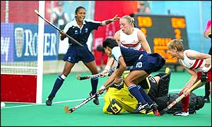 India score a golden goal in the fifth minute of the extra period, but controversy follows