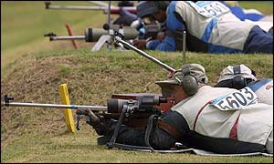 Northern Ireland's David Calvert shot a personal best at Bisley