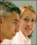 Jonathan Edwards and Paula Radcliffe