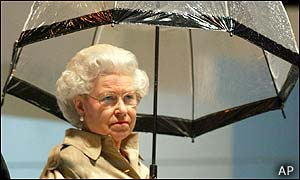 The Queen at the Commonwealth Games closing ceremony