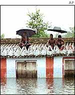 Floods have affected two states
