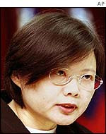 Chairwoman of Taiwan's Mainland Affairs Council, Tsai Ing-wen