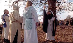 Druids, but not the Gorsedd of the Bards