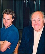 Sam and Timothy West
