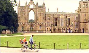 Rickshaw at Newstead Abbey