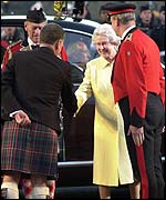 Queen and first minister