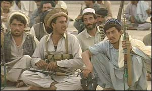 Pashtun fighters
