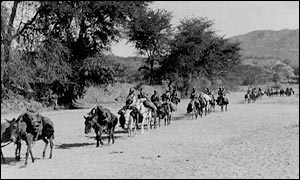 Border patrol in Eritrea in 1944