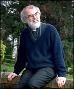 Archbishop of Canterbury-elect Rowan Williams