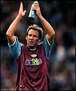 Paul Merson in his Aston Villa days
