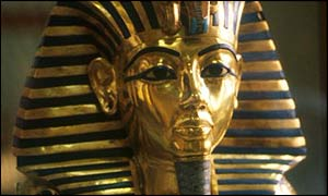 The Egyptian Museum holds Tutankhamen's death mask