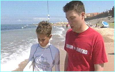 He went to surf capital Biarritz Newsround's Adam S to check out the waves