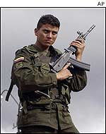 Colombian soldier