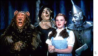 Wizard of Oz footage