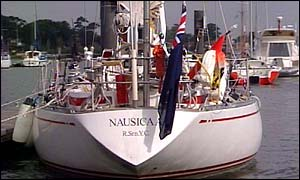 The Nausicaa yacht