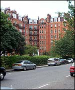 Holland Park apartment block