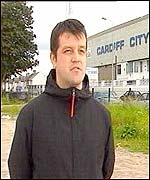 Former Cardiff City hooligan, Tony Rivers