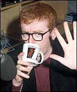 Chris Evans at Radio 1