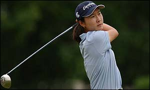 Candie Kung leads the Weetabix Open