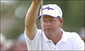 Mark Brooks, second at the Buick Open