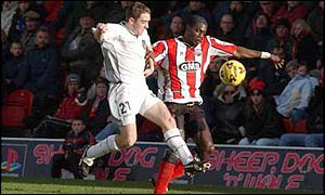 Darren Powell in action for Brentford