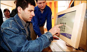 Electronic voting trial in practice