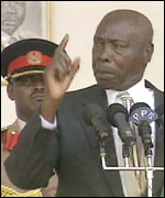 President Moi, an old school politician