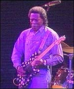 Buddy Guy at the Brecon Jazz Festival