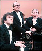 Previn with Morecambe and Wise