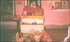 Temple in Triveni Dham, Rajasthan