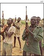 Sudan People's Liberation Army (SPLA) rebels