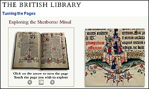The Sherborne Missal on the British Library website