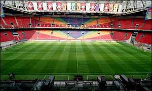 The Amsterdam Arena, home of Ajax