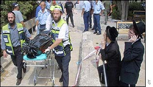 Attack by militant group Hamas on Hebrew University in Jerusalem