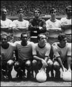 The World Cup winning Brazil team of 1970