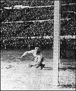 Uruguay score against Brazil in 1930