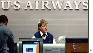 US Airways employee