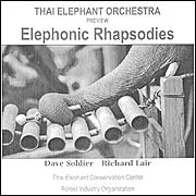CD Cover of the Elephants' music