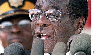 Robert Mugabe, Zimbabwe's President
