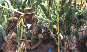 Foreign troops in DR Congo