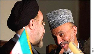 Khatami and Karzai