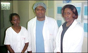 Congolese medical team