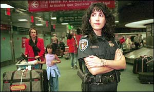 US customs officer