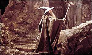 Gandalf in Lord Of The Rings: The Fellowship Of The Ring